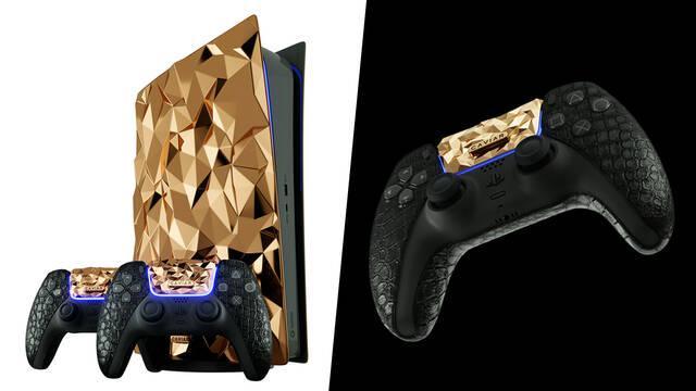 PS5 de oro 1 millón de dólares