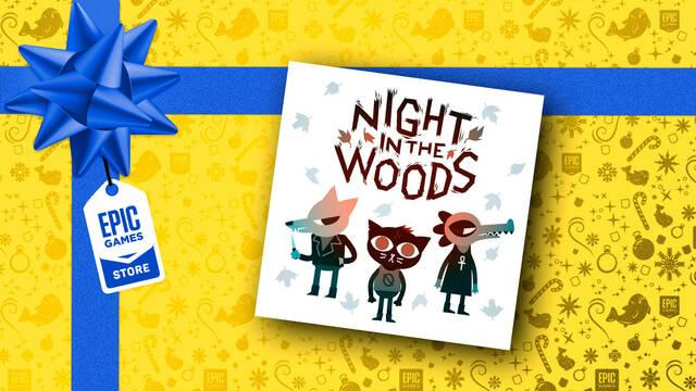 Night in the Woods gratis en Epic Games Store