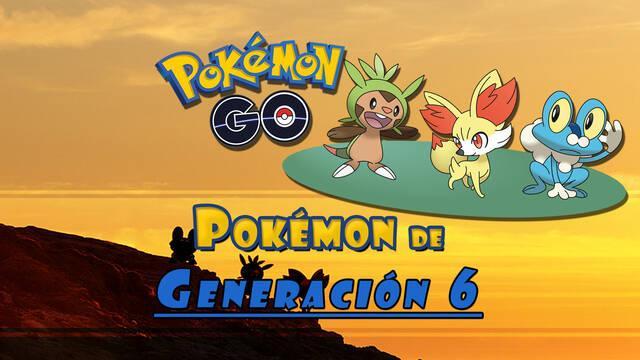 Pokémon GO - 6ª Generación: TODOS los Pokémon y cómo conseguirlos