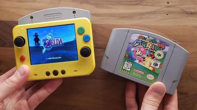 Nintendo 64 portátil mod
