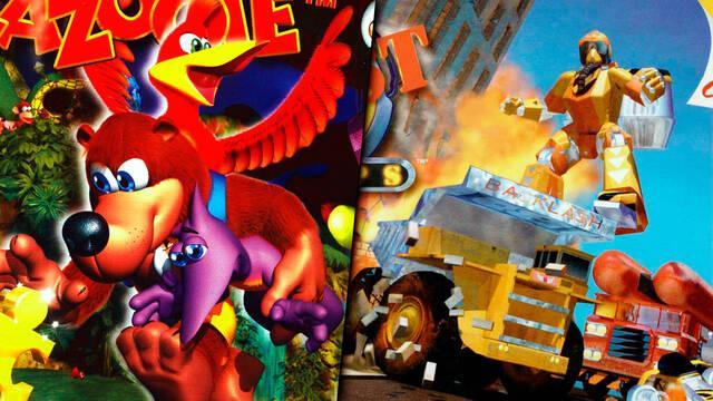Banjo-Kazooie y Blast Corps de Rare no salen en Wii U