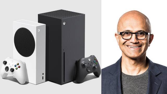 Xbox Microsoft Satya Nadella compromiso con videojuegos