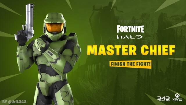 Halo Jefe Maestro en Fortnite Battle Royale