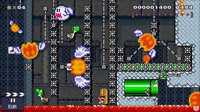 Trials of Death, el nivel imposible de Super Mario Maker.