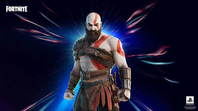 Kratos de God of War en Fortnite