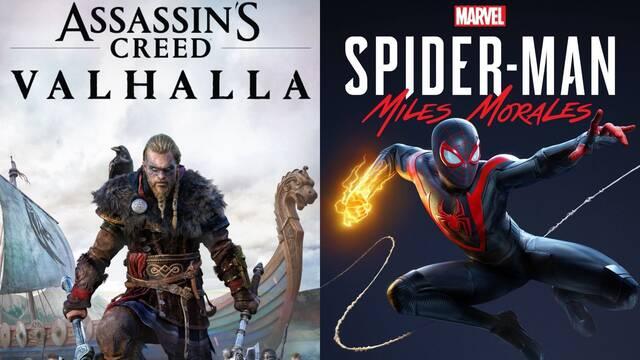 Ventas juegos PS5 y Xbox Series X/S en su lanzamiento