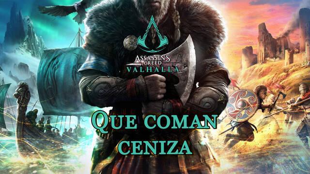 Que coman ceniza al 100% en Assassin's Creed Valhalla