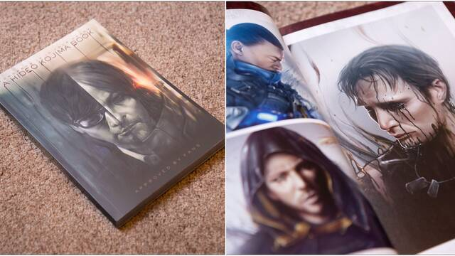 El libro dedicado a Hideo Kojima ya a la venta