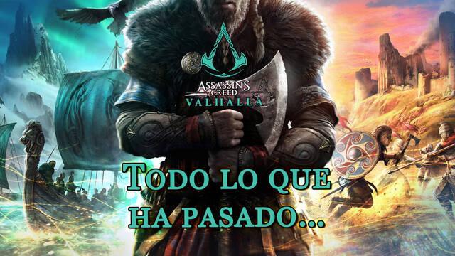 Todo lo que ha pasado... al 100% en Assassin's Creed Valhalla