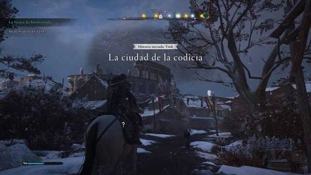 La ciudad de la codicia al 100% en Assassin's Creed Valhalla
