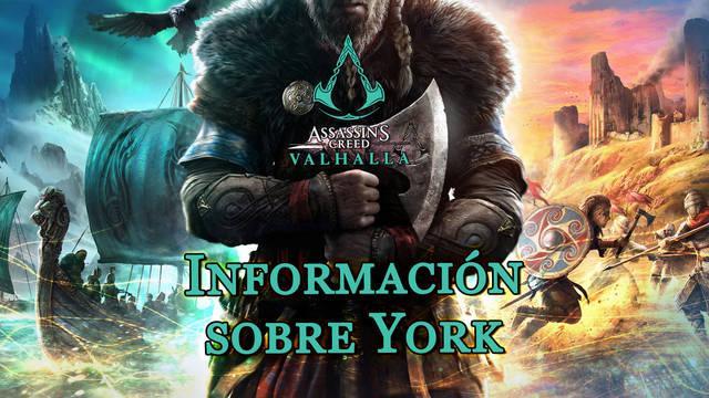 Información sobre York al 100% en Assassin's Creed Valhalla