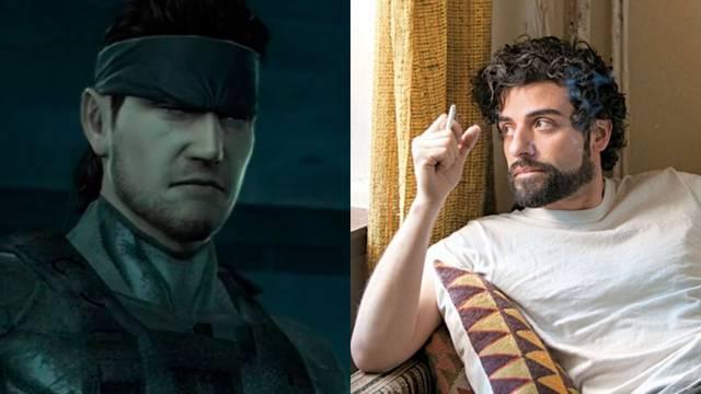 Oscar Isaac será Solid Snake en la película de Metal Gear Solid.