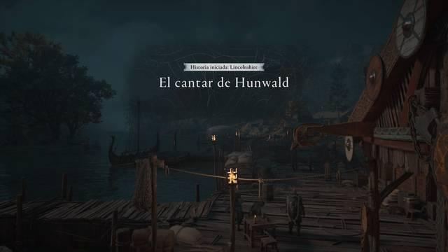El cantar de Hunwald al 100% en Assassin's Creed Valhalla