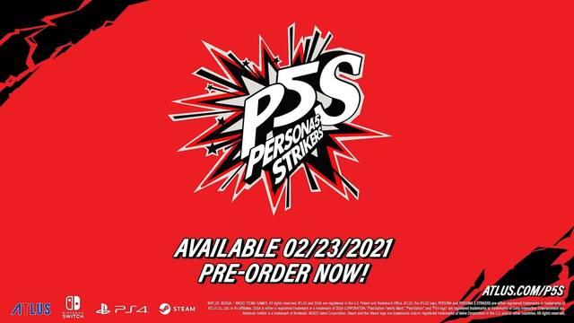 Persona 5 Strikers fecha de lanzamiento españa ps4 switch pc