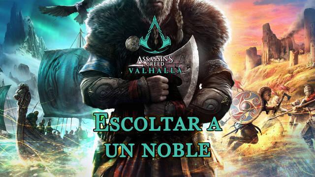 Escoltar a un noble al 100% en Assassin's Creed Valhalla
