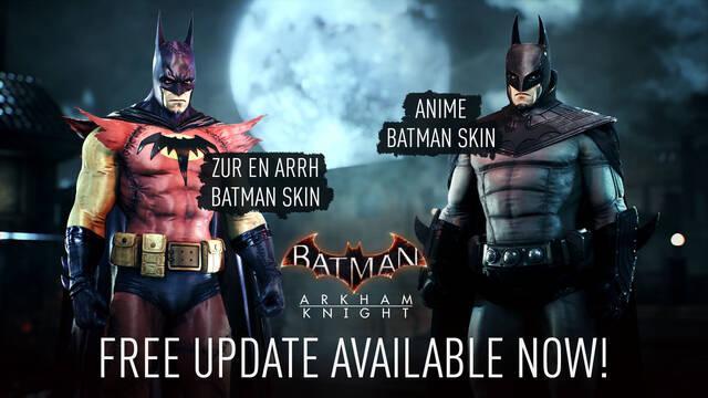 Batman: Arkham Knight apariencias gratis