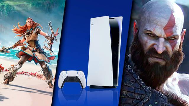 PS5 con grandes juegos en el catálogo en 2021