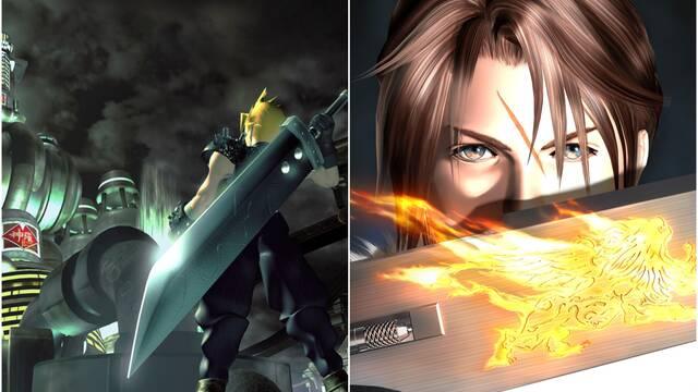 Final Fantasy VII y VIII Remastered para Switch