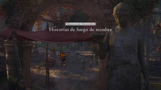 Historias de fuego de mimbre al 100% en Assassin's Creed Valhalla