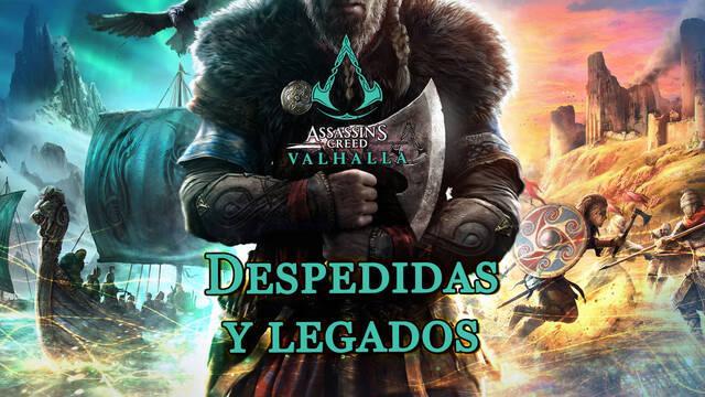 Despedidas y legados al 100% en Assassin's Creed Valhalla
