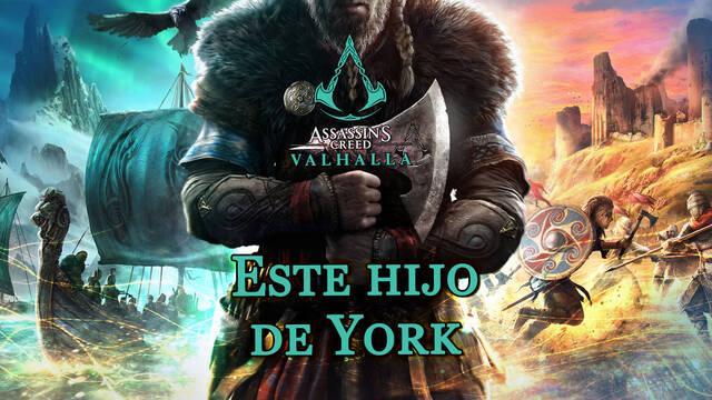 Este hijo de York al 100% en Assassin's Creed Valhalla