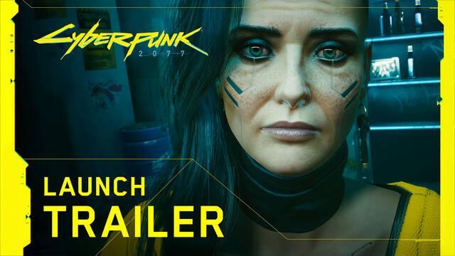 Cyberpunk 2077 tráiler de lanzamiento