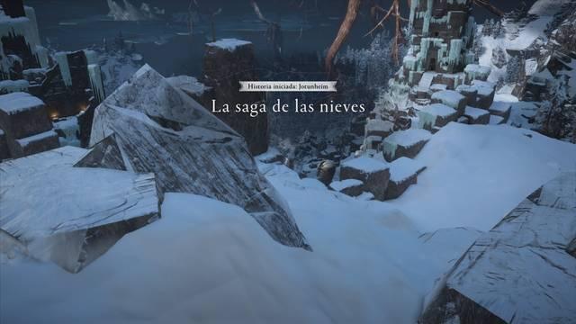 La saga de las nieves al 100% en Assassin's Creed Valhalla