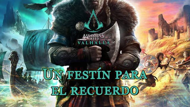 Un festín para el recuerdo al 100% en Assassin's Creed Valhalla