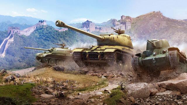 Los tanques chinos llegarán en la actualización 8.2 de World of Tanks