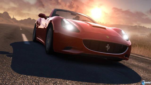 El Ferrari California se muestra en Test Drive Unlimited