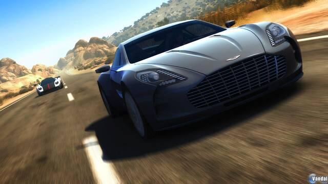 El Aston Martin One-77 se muestra en Test Drive Unlimited 2