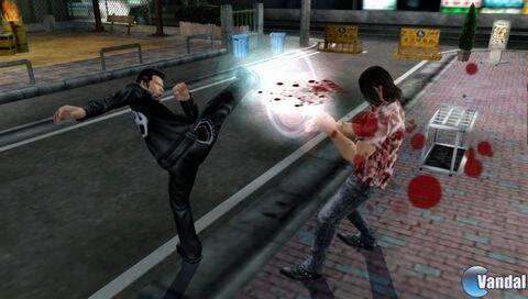 Nuevas imágenes de Yakuza para PSP