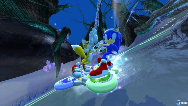 Nuevas imágenes de Sonic Free Riders