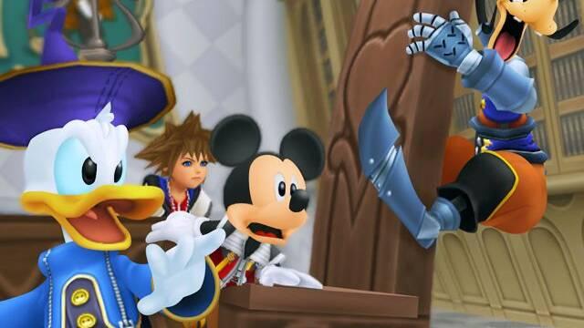E3: Nuevas imágenes de Kingdom Hearts: Re:Coded