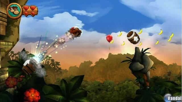 E3: Primeras imágenes de Donkey Kong Country Returns