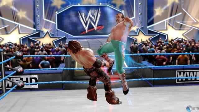 Imágenes de los golpes finales en WWE All Stars