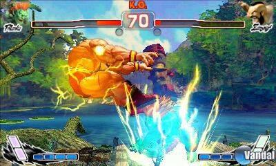 Cámara por encima del hombro para Super Street Fighter IV 3D Edition