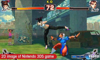 Super Street Fighter IV para 3DS supera los 1,2 millones