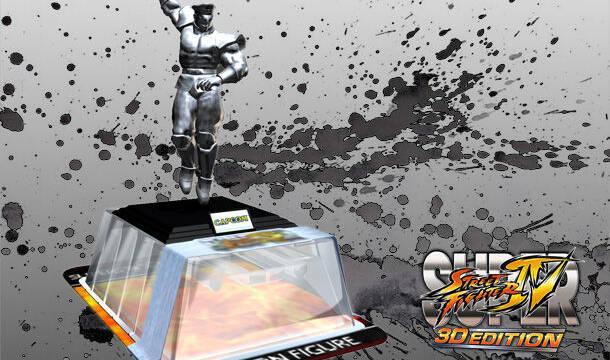Consigue una figura especial de Bison en Super Street Fighter IV 3D Edition