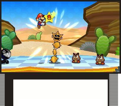 E3: Primeras imágenes de Paper Mario para Nintendo 3DS