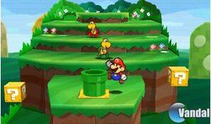 Nuevas imágenes de Paper Mario para Nintendo 3DS