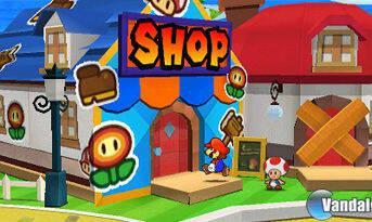 Nuevas imágenes de Paper Mario 3DS
