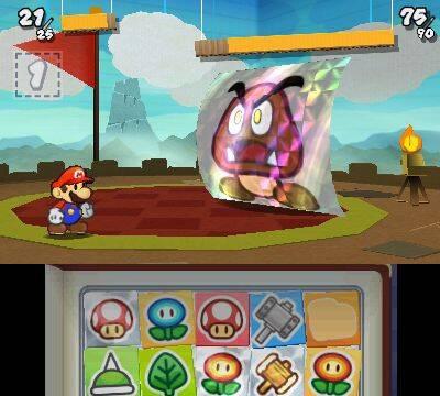 Paper Mario se sigue mostrando en 3DS