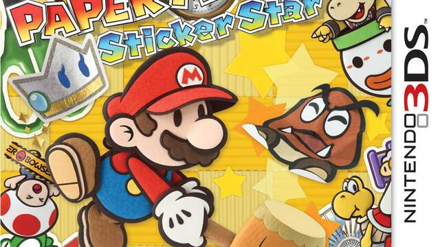 Presentada la portada de Paper Mario Sticker Star