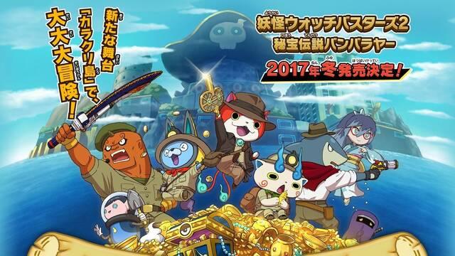 Yo-kai Watch Busters 2 es el videojuego más vendido de la semana en Japón