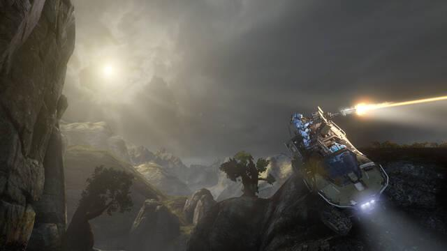 Halo 4 muestra nuevas imágenes de Castle Map Pack