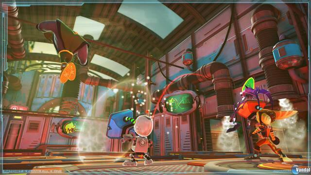Nuevas ilustraciones de Ratchet and Clank: All 4 One