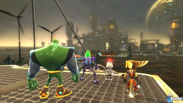 Ratchet and Clank: Todos para uno  se muestra en nuevas imágenes