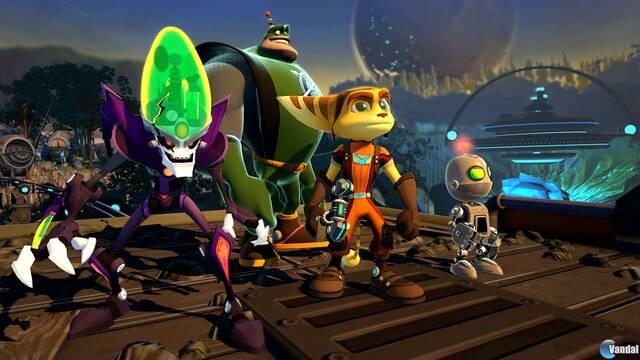 Nuevas imágenes e ilustraciones de Ratchet and Clank: All 4 One