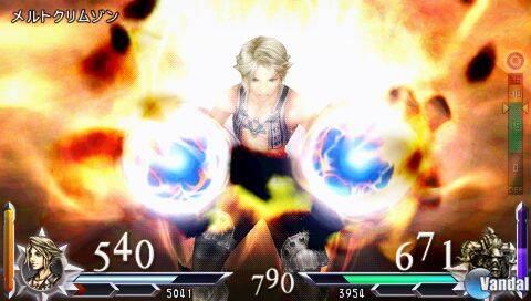 Vaan se muestra en Dissidia 012 Final Fantasy